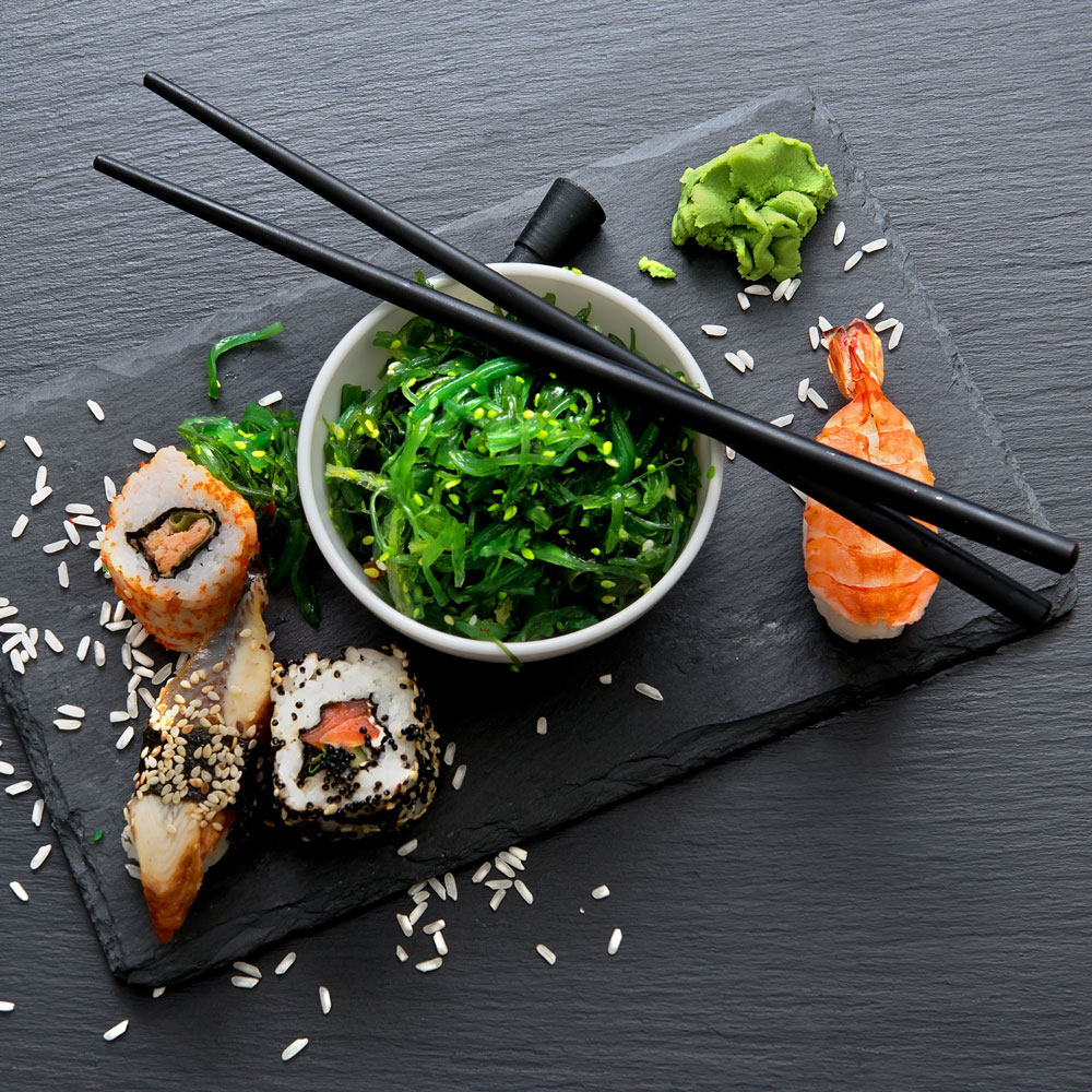 Hottlet-Epic Seafood-seafood and vegetarian ingredients for sushi preparations